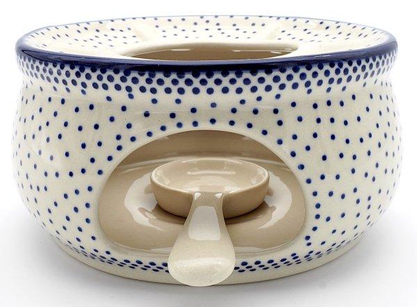 Stövchen klein mit Teelichthalter O13,5 cm + Teelöffel