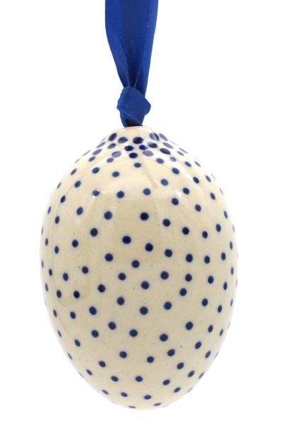 Keramik Ei mit Band H: 6 cm