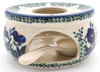 Stövchen groß mit Teelichthalter O15 cm +...